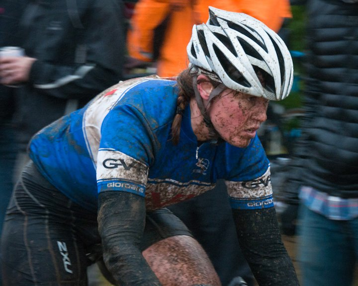 Muddy cyclocross photo